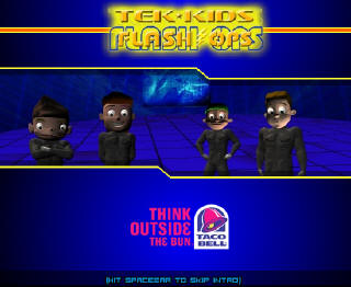 Tek Kids Title Screen