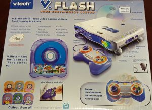 V.Flash box back