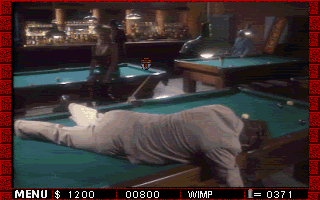 Who Shot Johnny Rock? -- pool hall shootout