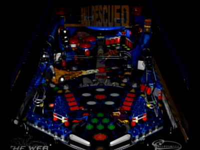 Pro Pinball: The Web gameplay