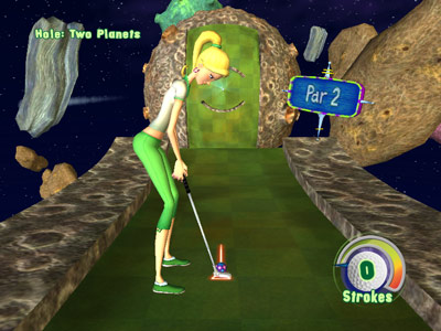 3D Ultra Mini Golf Adventures -- Two Planets