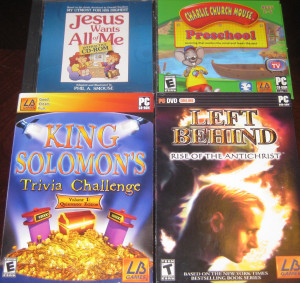 Jesus Wants All Of Me, Charlie Church Mouse, King Solomon's Trivia Challenge, Left Behind 3
