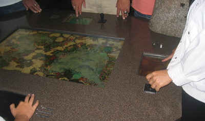 Monterey Bay Aquarium — Tabletop educational game