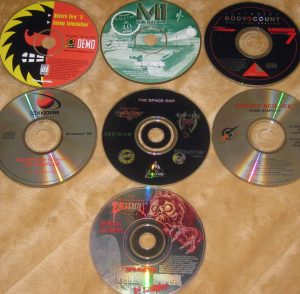 Demo disc lot