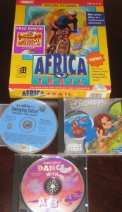 Africa Trail; Hot Shots: Tarzan; Dance With ABC