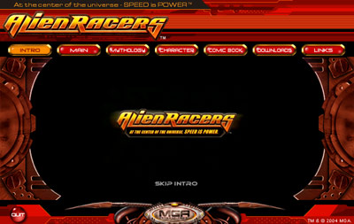 Alien Racers - Intro