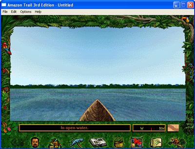 Amazon Trail -- Canoe