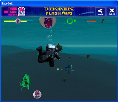Tek-Kids Flash-Ops: Mission: Aqua Zone gameplay