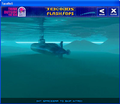 Tek-Kids Flash-Ops: Mission: Aqua Zone submarine