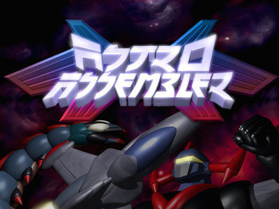 Astro Assembler Title Screen