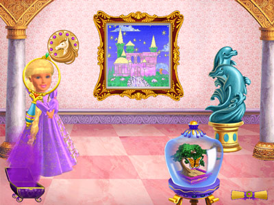 barbie rapunzel game