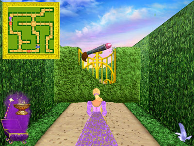 Barbie Fashion Games Online on View Barbie As Rapunzel Game Preview Page Click The Paint