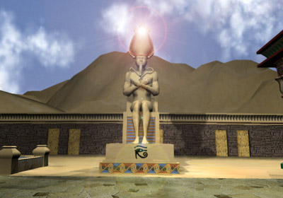 Beyond Time -- Blinding Statue