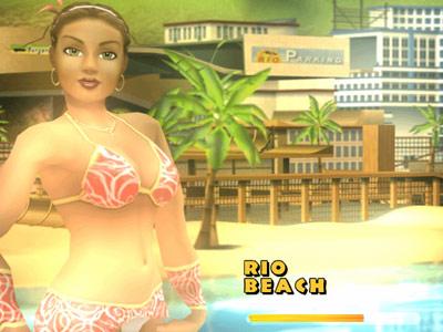 Bikini Beach Stunt Racer -- Rio Village