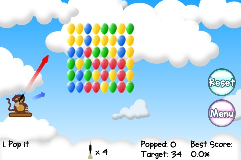 Reviews of Bloons, Parachute Panic, and StickWars for iPhone/iPod