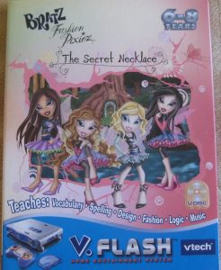Bratz V.Flash game -- Cover