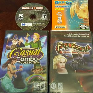 Canada Hunt; Deep Sea Explorer; Casual Combo Collection; Film Fatale
