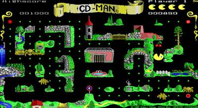 CD-Man Pac-Man clone