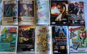 Video Game Ads in Comics