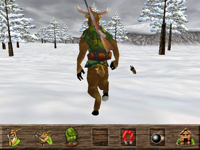 Deer Avenger 3D -- In the wilderness