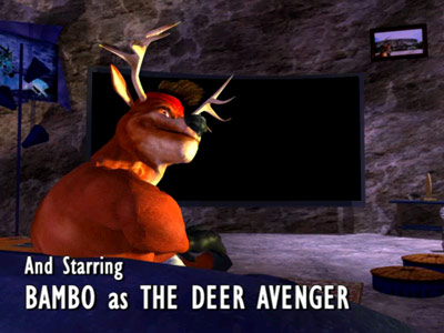 Deer Avenger 4 -- Intro