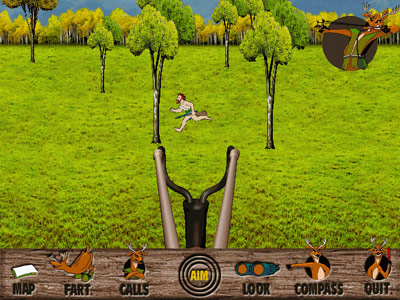 Deer Avenger -- Hunting the Tree Man with sling shot