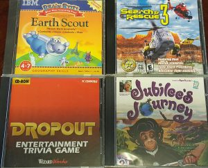 Earth Scout; Search & Rescue 3; Dropout Entertainment Trivia Game; Jubilee's Journey