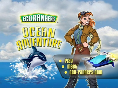 Eco-Rangers Ocean Adventure -- title screen