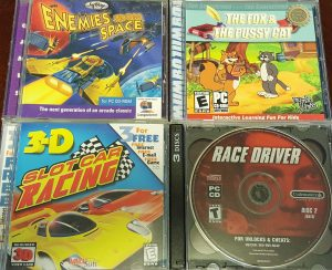 Enemies From Space; The Fox and the Pussy Cat; Slot Car Racing; Race Driver