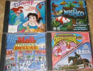 Little Mermaid 2; FishCo; Mall Tycoon 2: Deluxe; Championship Cheerleading