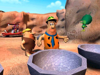 The Flintstones: Bedrock Bowling– Fred, Barney, and The Great Gazoo