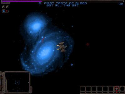 Galactic Swarm -- Nebula flyby