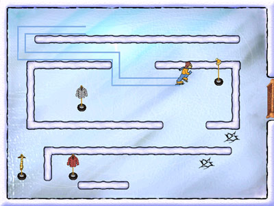 Snowday: The GapKids Quest: Skate Race