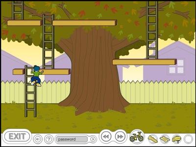 GapKids Adventure -- Ladder maze