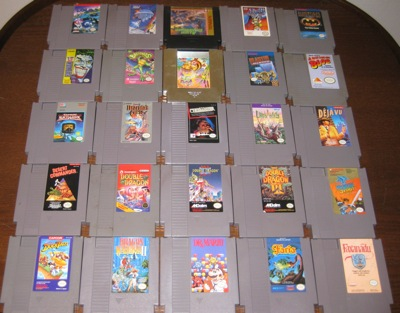 NES cartridge lot #1