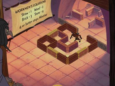 Hades Challenge -- Minotaur Maze Puzzle