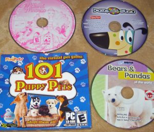 Island Princess; Digital Arts & Crafts Studio; 101 Puppy Pets; Bears & Pandas