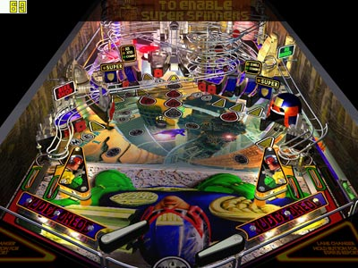 Judge Dredd Pinball Board
