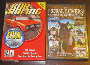 Kar Racing; Horse Lovers Ultimate Compendium