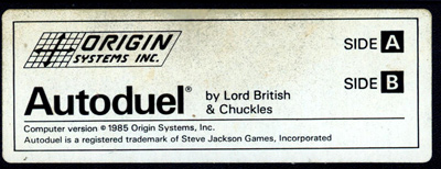 Lord British and Chuckles present Autoduel