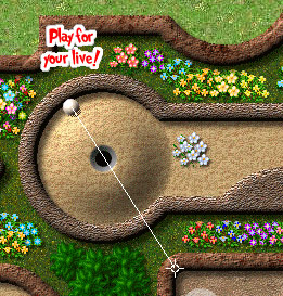 Minigolf -- Play or die