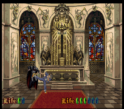 Nosferatu (SNES) -- Final boss battle with Dracula