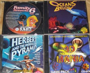 Ocean's Below; Family Fireworks 6; Herbert and the Underwater Pyramid; 3D Mania