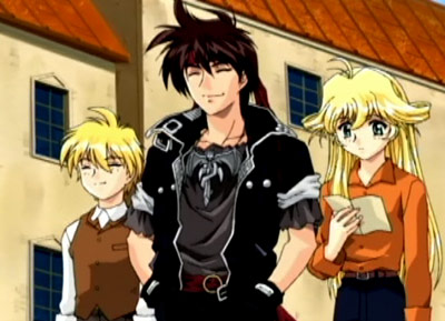 Orphen and friends