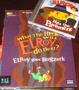 Elroy: Goes Bugzerk & Hits the Pavement