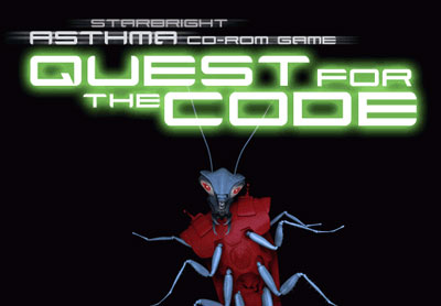 Quest For The Code -- Title screen