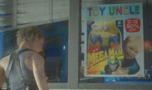 Resident Evil 3 - Mega Man doll
