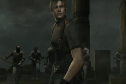 Resident Evil 4: Mobile Edition -- Opening cinematic with Leon surrounded