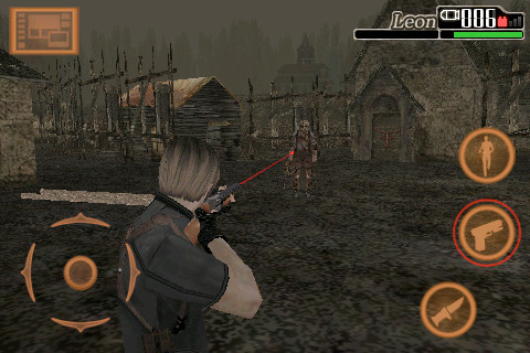 Resident Evil 4: Mobile Edition -- Shotgun vs. chainsaw