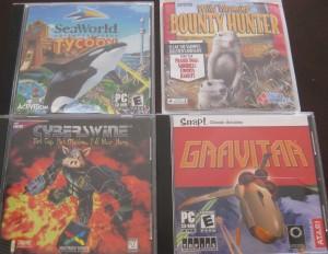 SeaWorld Tycoon; Wild Varmint Bounty Hunter; Cyberswine; Gravitar
